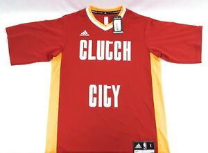 d5993ba3a4076 Image is loading Houston-Rockets-Clutch-City-Adidas-Jersey-Mens-Shirt-
