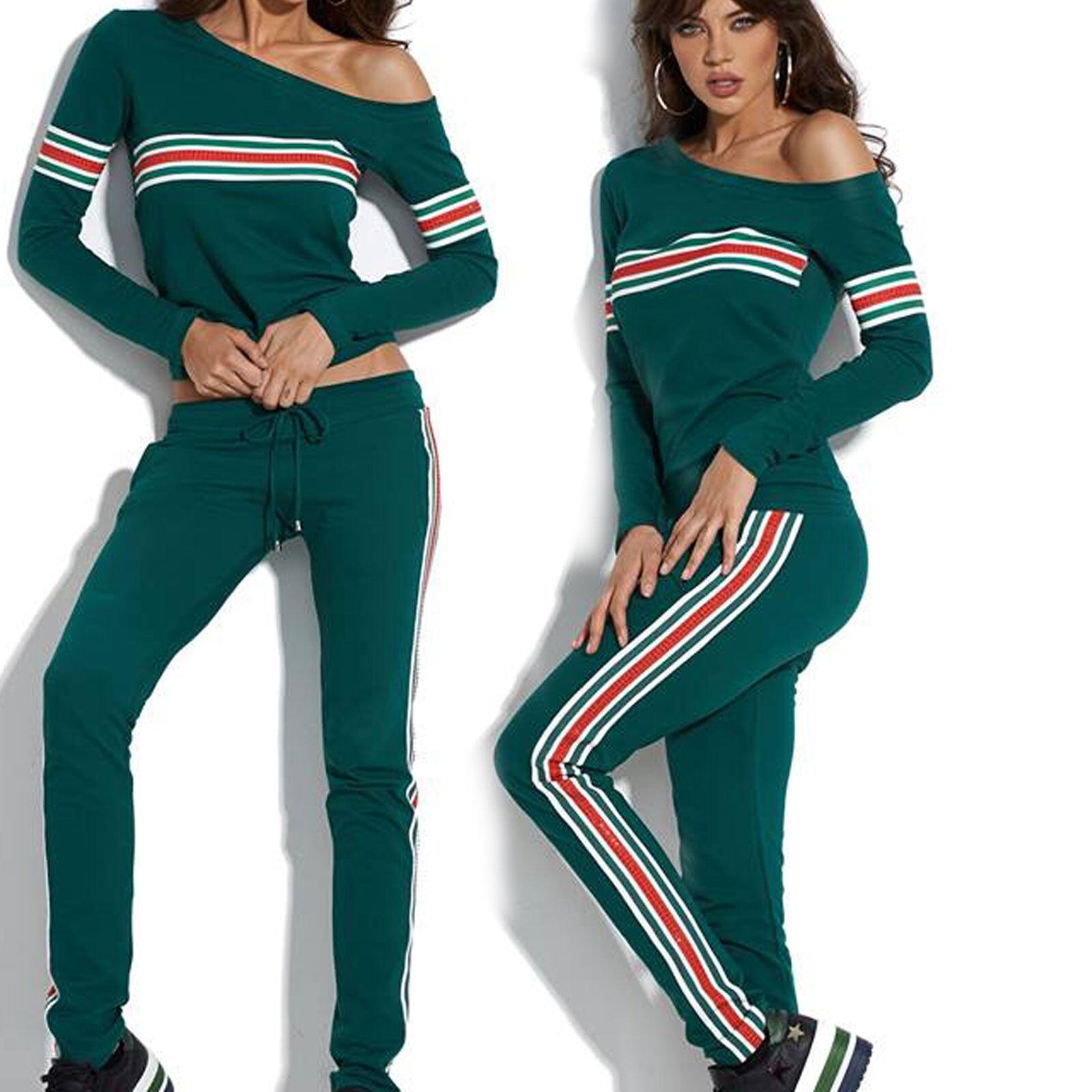 4e47c9f2b088 By Alina 2-Divisorio per il il il Tempo Libero Tuta Da Donna Jogging  Pantaloni Casa Tuta Tuta Sportiva XS-M dd00ad