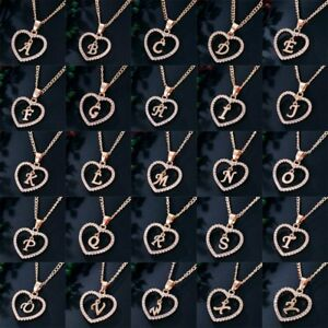 Fashion-Crystal-Initial-Alphabet-Letter-A-Z-Love-Heart-Pendant-Chain-Necklace