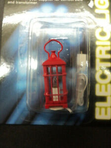 Red Lantern Dolls House Miniature 1:12 Scale