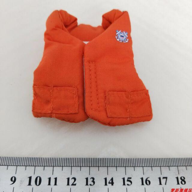 1:6th Scale GI Joe Life Orange Vest