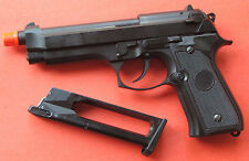 Full Metal CO2 Blowback Airsoft Gun Beretta M9, M92F Style Shoot up to 300 FPS