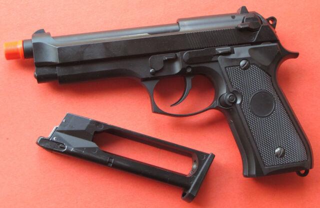 full metal co2 blowback airsoft gun beretta m9 m92f style shoot up