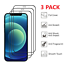 thumbnail 1 - 3x Full Coverage Tempered Glass Screen Protector For iPhone 13 12 11 Xs Pro MAX