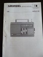 Original Service Manual  Grundig Satellit 400
