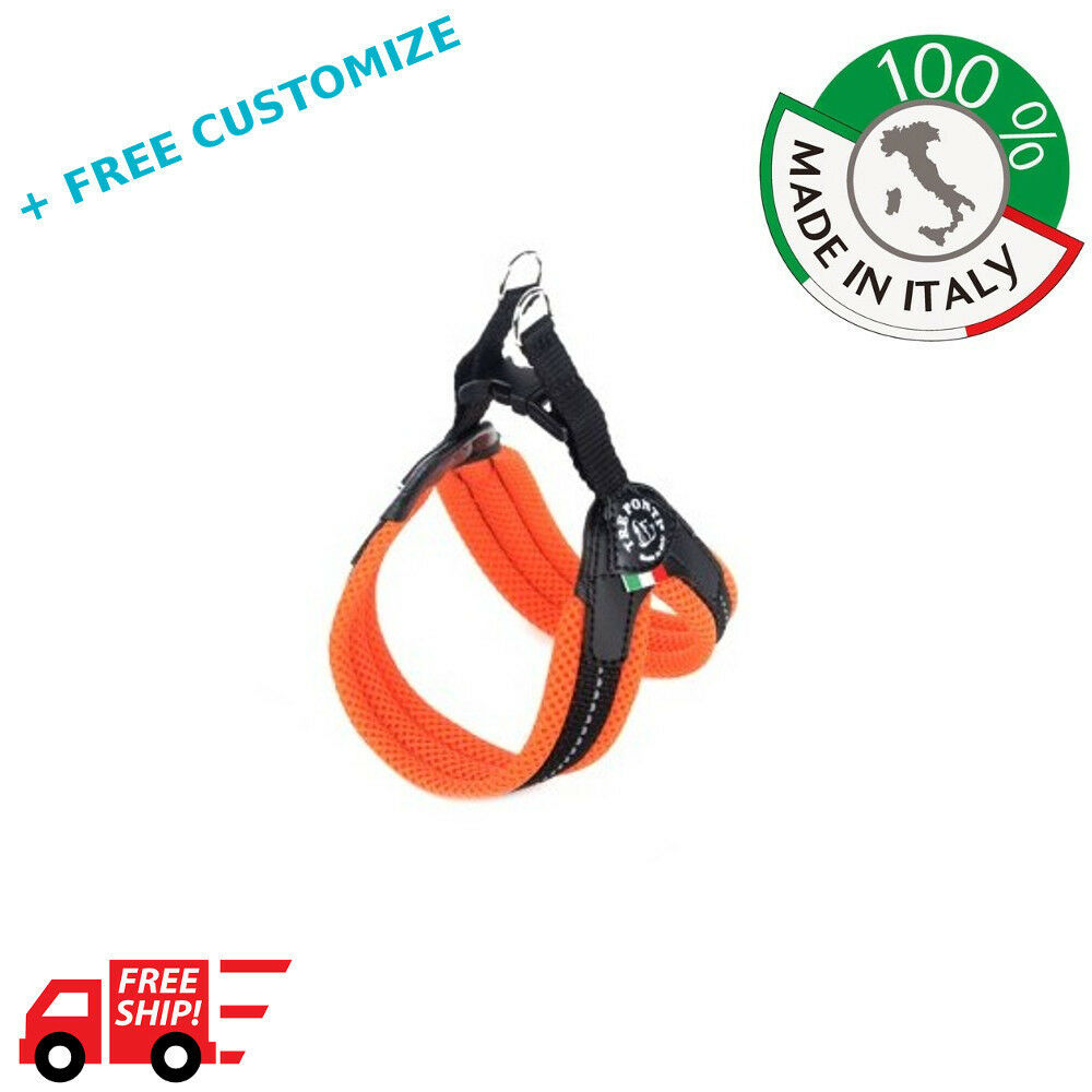 DOG HARNESSES TRE PONTI MOD.MESH  FOR SMALL DOGS 100% MADE IN ITALY