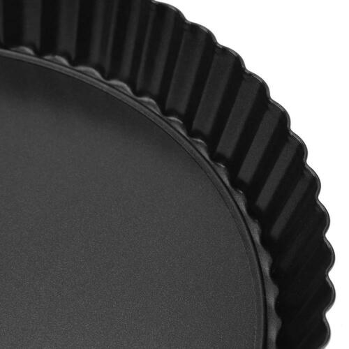 9 Inch Non-stick Pizza Bakeware Removable Loose Bottom Tart Pie Pan