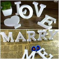 A-Z Wedding Supply Wooden Freestanding Letters 26 Alphabet Birthday Party Decor