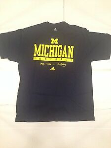 Details about Michigan Wolverines NCAA Adidas Men's