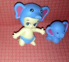 TWOZIES SEASON 1~Common Boy BLUE Elephant Baby TOBY & Pet TRUMPET~COMBINE SHIP