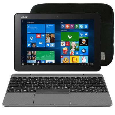 ASUS 10.1 Transformer Book 64GB HDD, 4GB Ram, Intel Atom 1.44GHz (Glacier Gray)