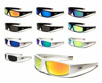Locs Gangster Style Hardcore Shades Sunglasses With Plastic Frame Men Women.