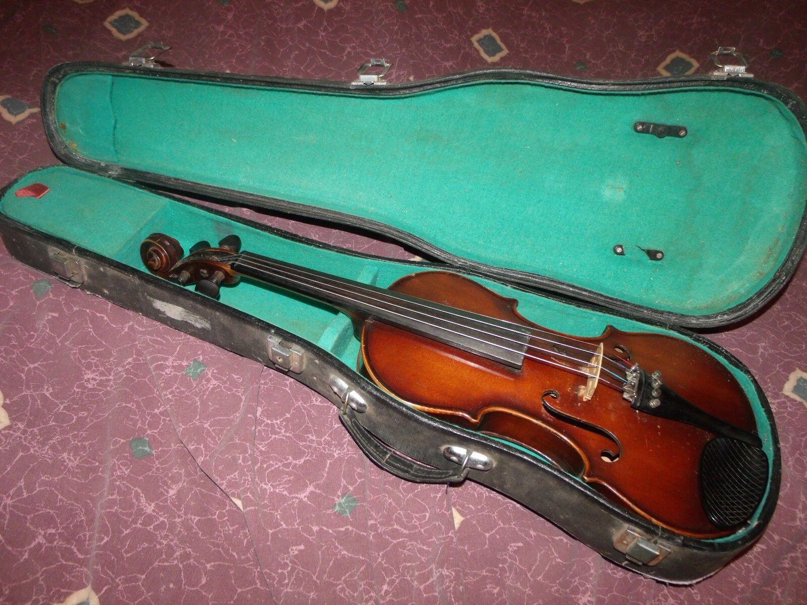 Ca 1920's Pan-American Symphony Model 4 4 Violin Elkhart Conn Germany Excellent