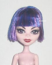 Monster High CAM Create a Monster Cat & Witch Girl Purple Blue Hair Doll Wig NEW