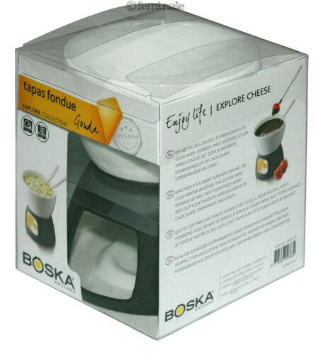✿ boska tapas Fromage Fondue Gouda Explore fondues set pour 2 POT 306374 ✿