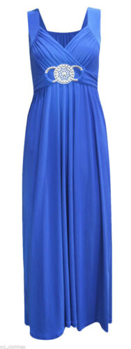 A24 WOMENS LONG BRIDESMAID BUCKLE MAXI PARTY COCKTAIL EVENING PROM DRESS 8-26