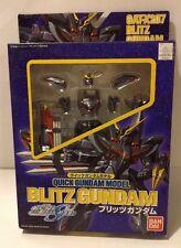 Bandai GAT-X207 Blitz Gundam Quick Gundam Model Action Figure Gundam Seed