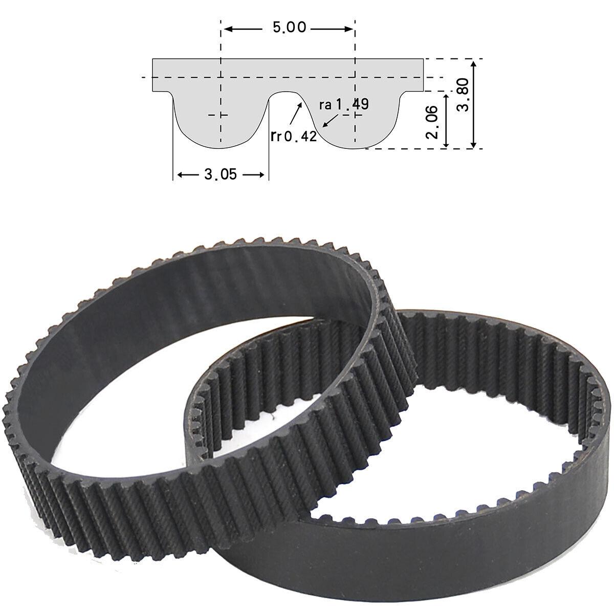 D/&D PowerDrive 2600-8M-25 Timing Belt Rubber