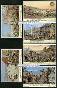 Greece-Greek-History-Six-c50-Y-O-Trade-Ad-Cards