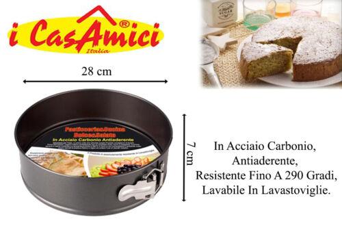Tortiera Apribile Varie Misure Dolci Ciambella Casa Cucina Torta Home Shop Itali