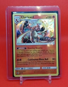 Charizard SM158 Team Up Prerelease Holo NM Pokemon