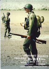 CP WW2 -  D-DAY 6 JUIN 1944 - GI's sur la plage de débarquement