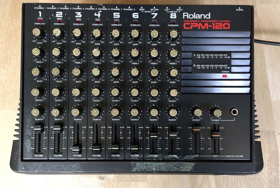 Powermixer, Roland CPM-120