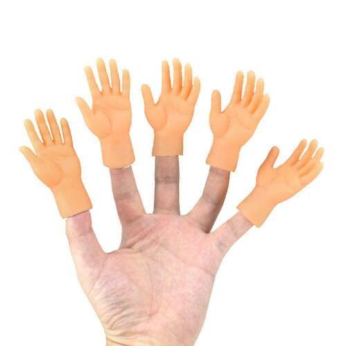 Novelty Funny Set Of Two Finger Hand Finger Puppets Toys DIY Q8B0