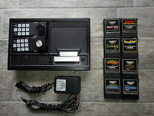 COLECOVISION Complete Console Lot, Everything Needed + 8 Games.  Fully Tested!