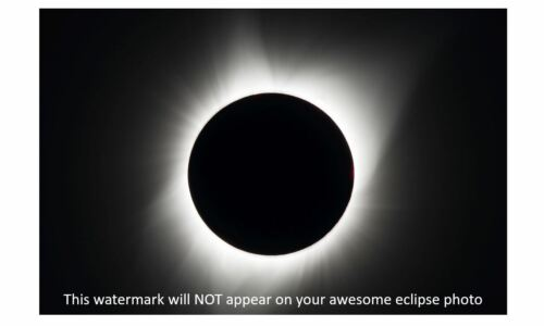 2017 Total Solar Eclipse PHOTO Art Print 8//21//17 Madras Oregon United States Sun