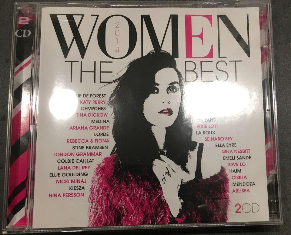 Diverse kunstner : Women The Best, pop