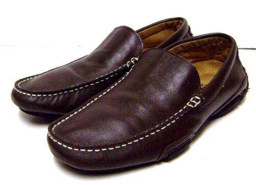 Marrone Sz Leather Cole Slip Kenneth Mocassino Uomo Mocassino On M 7 Scarpe Driving 7m t14t0w