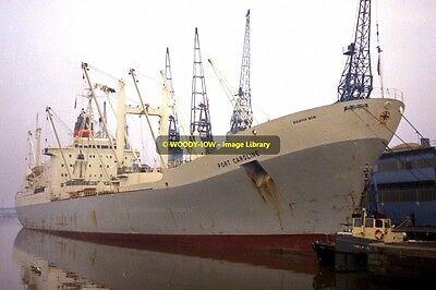 mc2692 - Port Line Cargo Ship - Port Caroline - photo 6x4