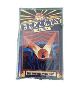 Time-Life-Music-The-Best-Of-Broadway-The-30-s-Cassette-Tape-NEW