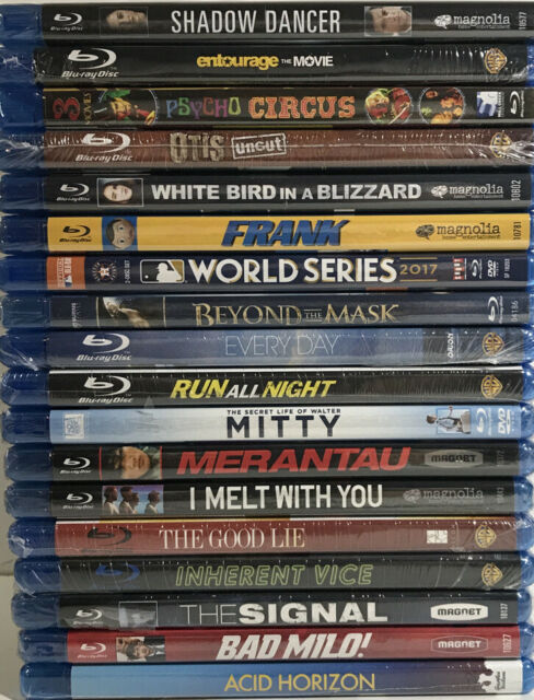 Lot of 18 Blu Ray DVD Movies PG - PG13 - R - Brand New