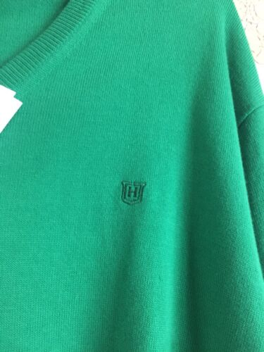 Made Bnwt di Pima Taglia Maglione xxl Italy verde cotone Maglione Hackett di In aZvSWqxv