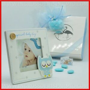 Wedding Favors Wholesale.Details About Photo Holder Wooden Sky Blue Owl For Little Boy Ideas Wedding Favors Wholesale
