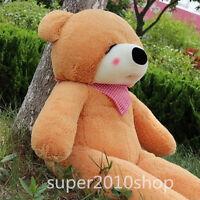 GIANT 39'' BIG CUTE sleepy PLUSH TEDDY BEAR HUGE SOFT 100% PP COTTON TOY gift