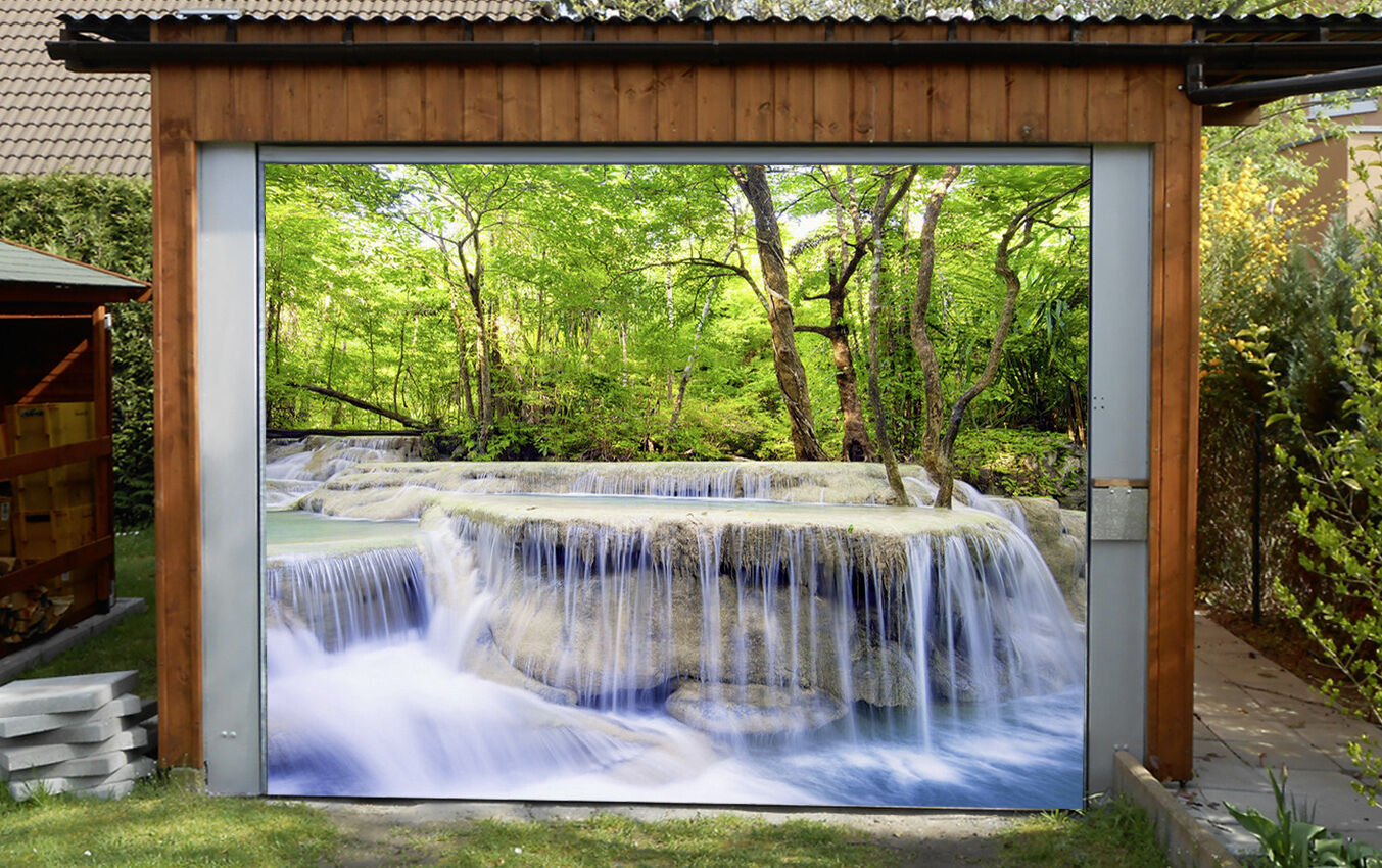 3D Beautiful River Garage Door Murals Wall Print Decal Wall Deco AJ WALLPAPER IE