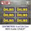 Sticker-Vinilo-Decal-Vinyl-Aufkleber-Adesivi-Autocollant-Ohlins-Suspension-AZOSS miniatura 2