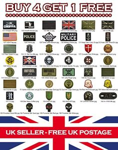 Rubber-Airsoft-Military-Tactical-PVC-Patch-Patches-Badge-Badges-Listing-3