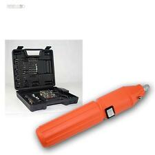 Mini Bohrmaschine DrillX mit Akku Gravurset Schleifset mit Zubehör 60-teilig