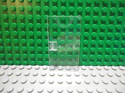 60616 LEGO 2x Trans-Clear Door 1x4x6 with Stud Handle Part no