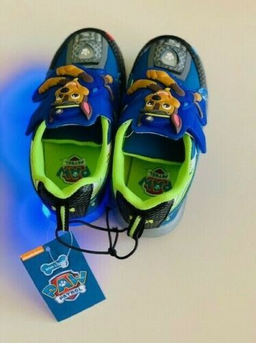 PAW PATROL Light-Up Athletic Sneakers Size 8 9 10 11 /& 12 NWT