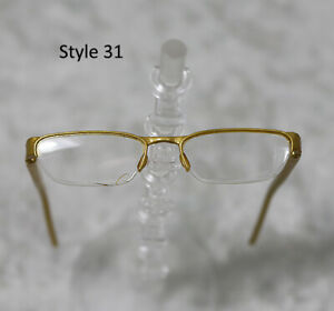 1-3-1-4-BJD-SD-60cm-45-eye-glasses-eyeglasses-Dollfie-Gold-clear-lens-Style-31