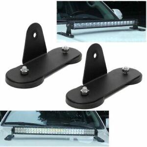LED-Lumiere-Support-pour-Voiture-SUV-Monter-Toit-Titulaire-Fort-Magnetique-Base