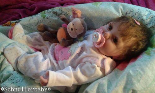 ♥Reborn Reallife Baby BS v U.L Krautter Babypuppe,Künstlerpuppe♥