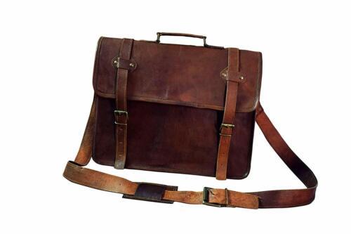Heritage Leather Messenger Bags Men Shoulder Cross
