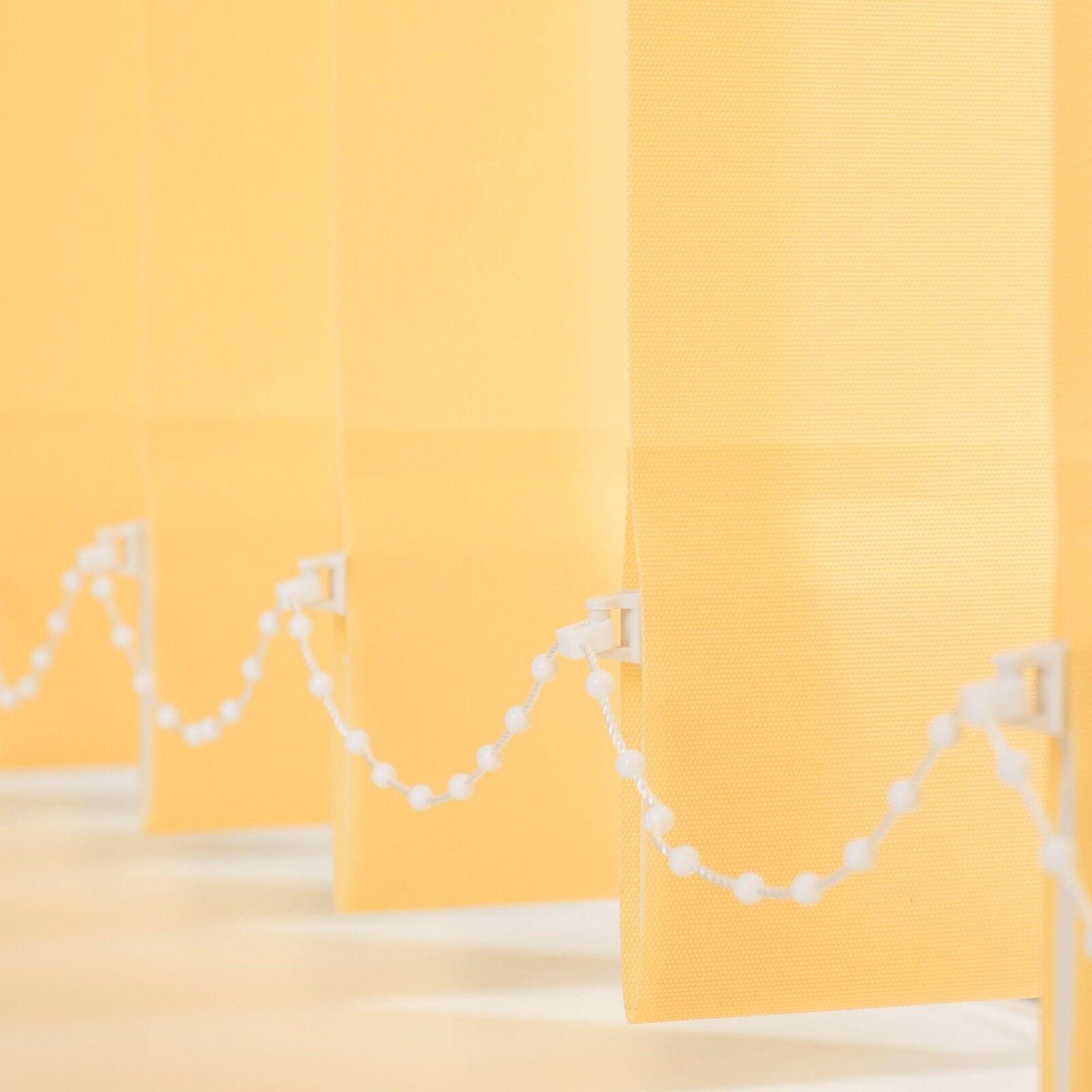 Lamellenvorhang Grünikalanlage Lamelle 89, 127 mm -  Länge kürzbar kürzbar kürzbar - gelb Gelb | Ausgezeichnetes Handwerk  a24c95