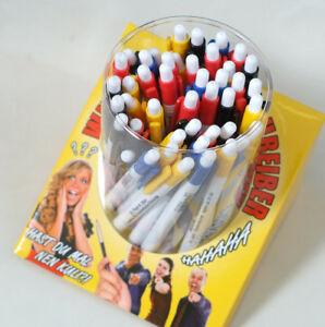 48-lustige-Kugelschreiber-anzuegliche-Sprueche-Kugelschreiber-inkl-Display-Kulis
